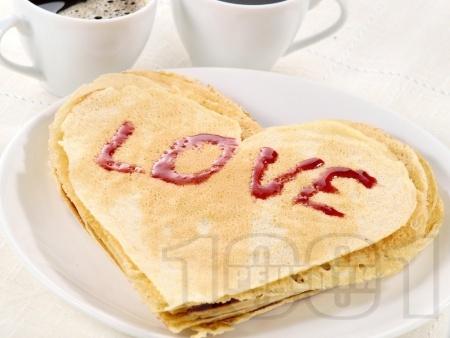 Лесни романтични палачинки - снимка на рецептата